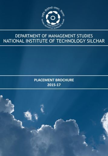 MBA PLACEMENT BROCHURE  2017