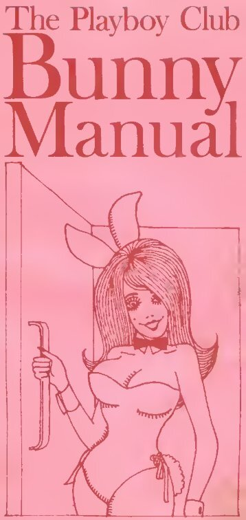 Playboy Bunny Manual (1969)