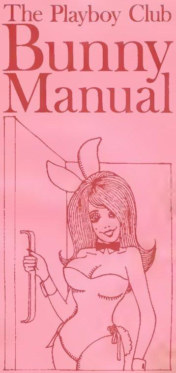 Playboy Bunny Manual (1969)