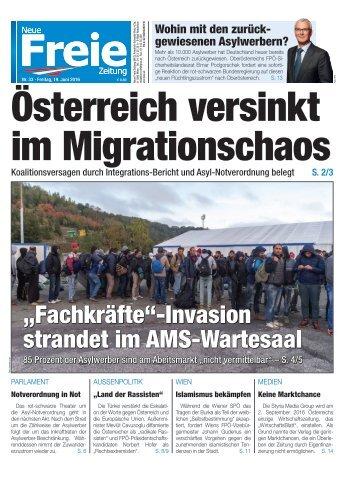 Österreich versinkt im Migrationschaos