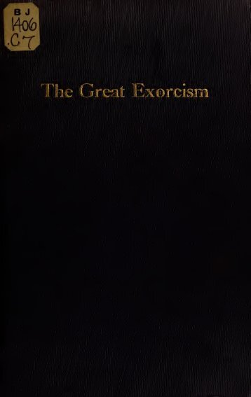 The Great Exorcism