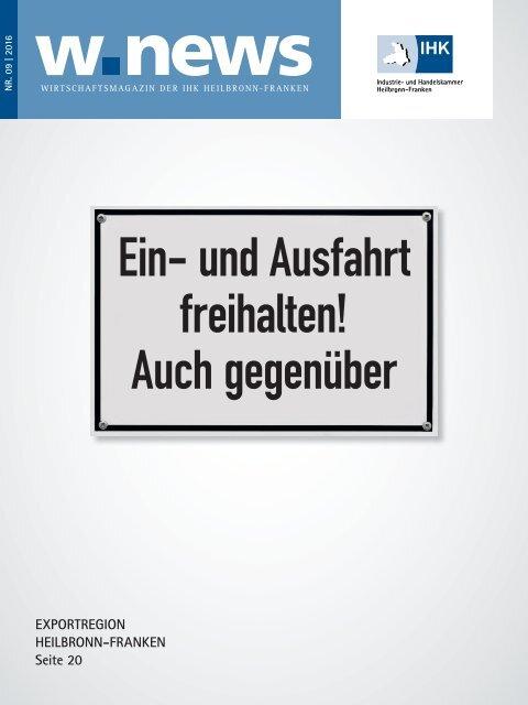 Exportregion Heilbronn-Franken | w.news 09.2016