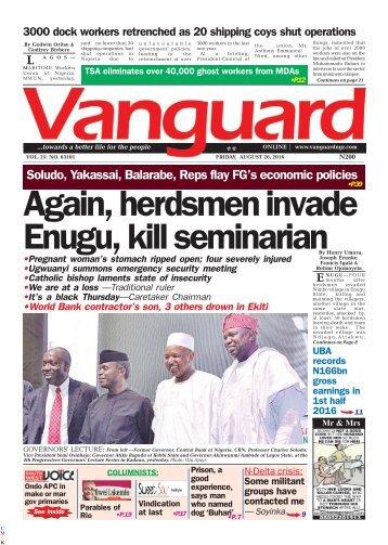 Again, herdsmen invade Enugu, kill seminarian