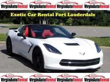 Exotic Car Rental Fort Lauderdale