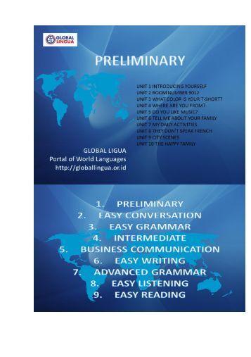 1 - Preliminary book