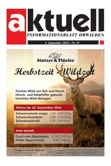 Aktuell Obwalden 35-2016