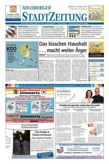 101 Augsburg - Süd 31.08.2016