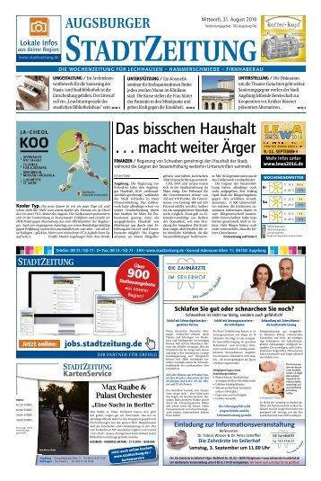 103 Augsburg - Ost 31.08.2016