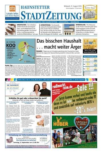 114 Augsburg - Haunstetten 31.08.2016