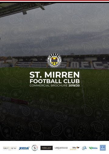 St.Mirren FC Commercial Directory 2018-2019