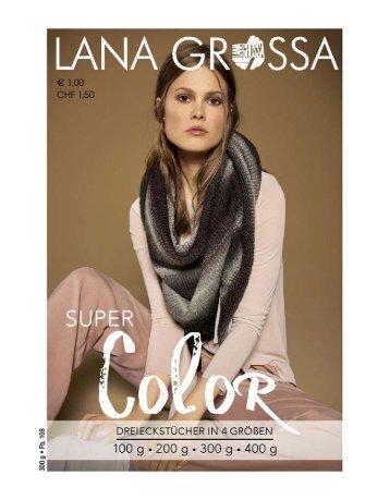 Super Color Dreieckstuch Lanagrossa Wollstudio