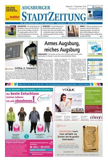 101 Augsburg - Süd 07.09.2016