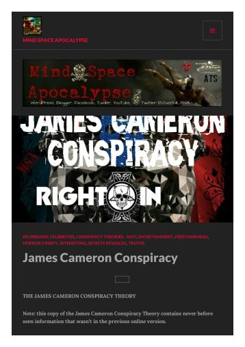 The James Cameron Conspiracy