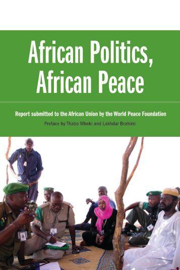 African Politics African Peace