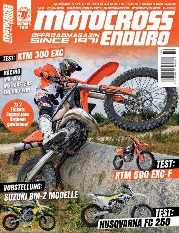 Motocross Enduro Ausgabe 10/2016