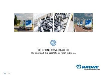 KRONE Trailer Achse (DE)