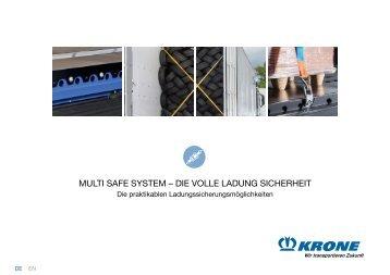 KRONE Multi Safe System DE
