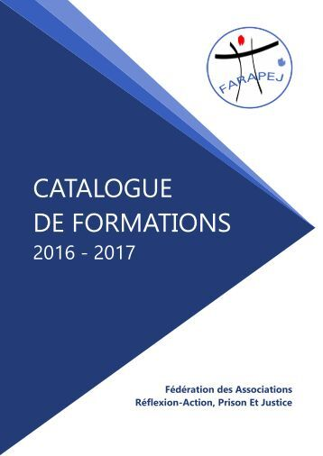 DE FORMATIONS