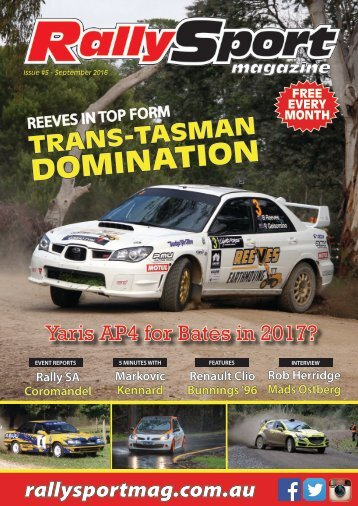 RallySport Magazine September 2016