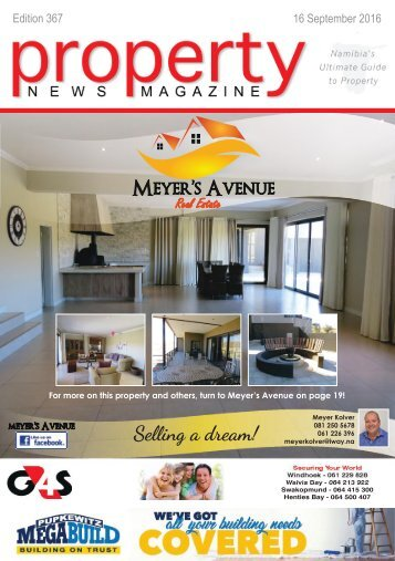 Property News Magazine - Edition 367 - 16 September 2016