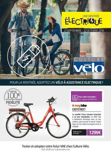 Rentrée Electrique Culture Vélo