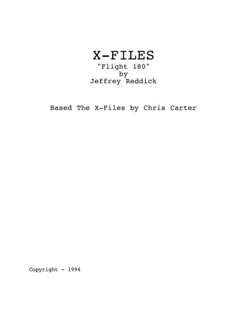 X-Files-Flight 180