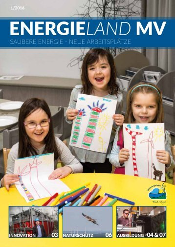 Magazin Energieland MV Saubere Energie - Neue Arbeitsplätze