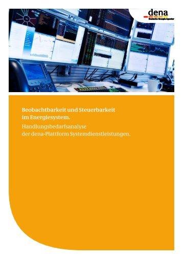 Beobachtbarkeit und Steuerbarkeit im Energiesystem