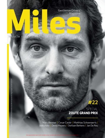 Miles #22 Special Zoute Grand Prix