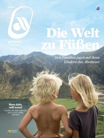 Oktober 2016 airberlin magazin - Die Welt zu Füßen