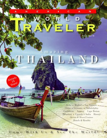 American World Traveler Fall 2016 Issue