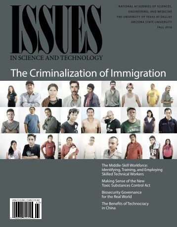 The Criminalization of Immigration