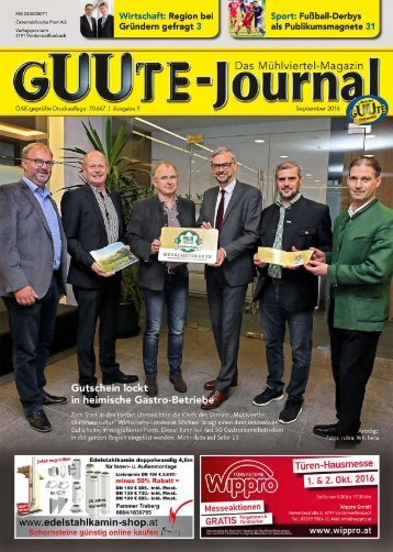 Guutejournal September 2016