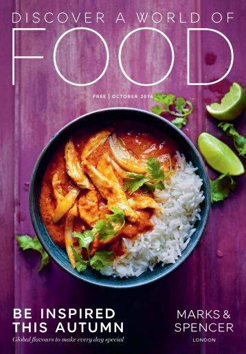 M&S Autumn Food Newspaper 2017