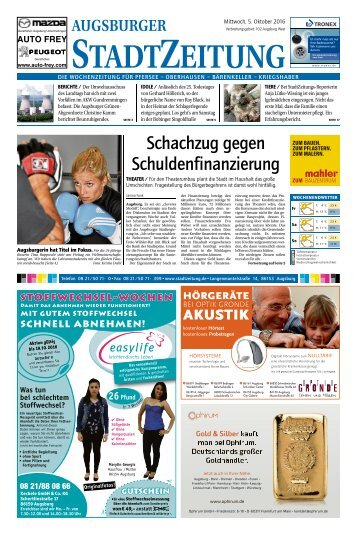 102 Augsburg - West 05.10.2016