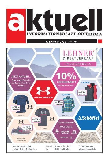 Aktuell Obwalden 40-2016