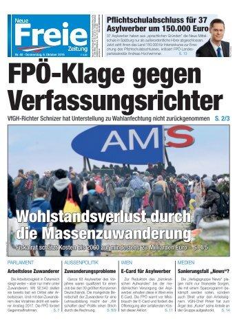 FPÖ-Klage gegen Verfassungsrichter