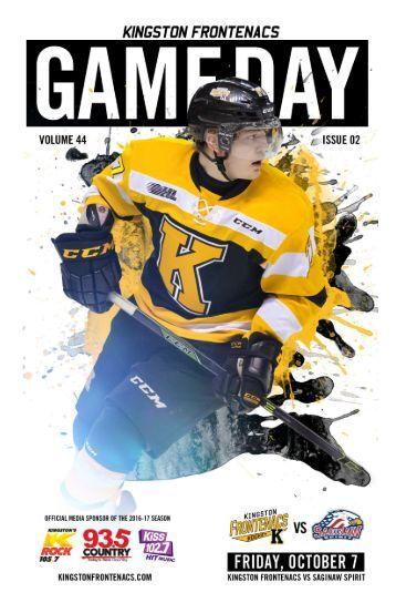 Kingston Frontenacs GameDay October 7, 2016