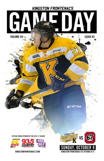 Kingston Frontenacs GameDay October 9, 2016