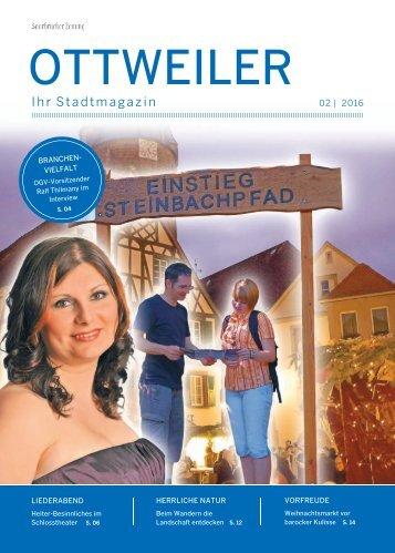 Stadtmagazin Ottweiler 02|2016