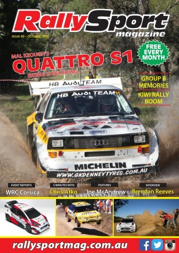 RallySport Magazine October 2016