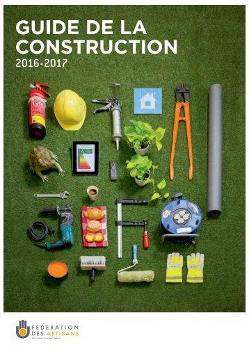 Guide de la Construction 2016-2017