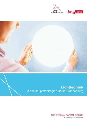 Lichttechnik in der Hauptstadtregion Berlin-Brandenburg