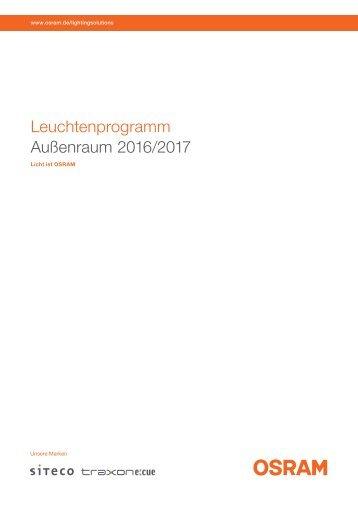 Siteco 2016/2017 Außenleuchten