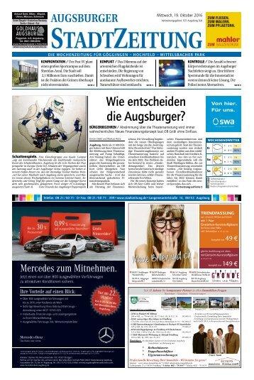 101 Augsburg - Süd 19.10.2016