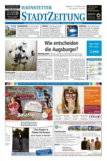 114 Augsburg - Haunstetten 19.10.2016