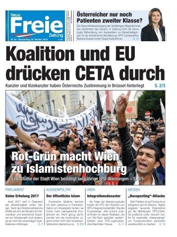 Koalition und EU drücken CETA durch