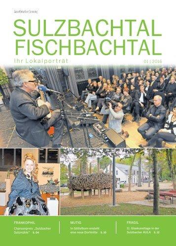 Gemeindemagazin Sulzbachtal Fischbachtal 01|2016