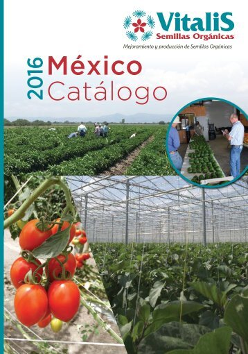 Vitalis Catalogue Mexico 2016