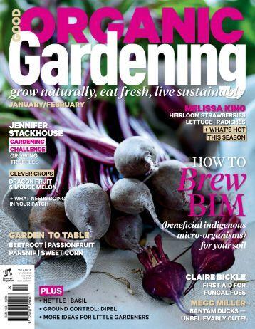 1. Good Organic Gardening - January-February 2016 AvxHome.in